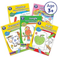 Preschool Pack 6 | Colouring Books Collection
